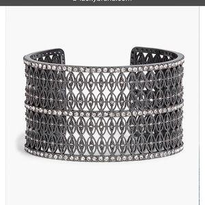 NWT Lucky Brand pave cuff bracelet